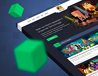 Bad Cube - Minecraft gaming portal