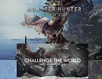 Monster Hunter World - Redesign Website
