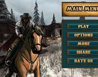 UI/UX Design for Horse Simulator Game 2018 / Horse Ride