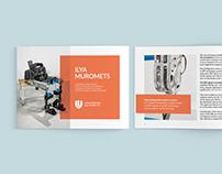 Exoskeleton robotic complex — brochure