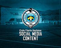 Étoile Filante Bastiaise 2018 - Social Media Content