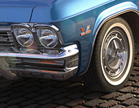 CGI Product Visualization -  Chevrolet Impala 1965