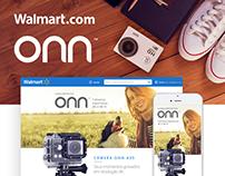 Walmart.com - ONN hotsite