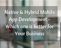 Native and Hybrid Mobile App Development