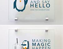 Door Sign - Illustration