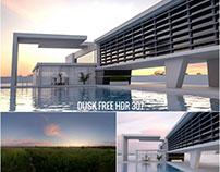 Dusk HDR SKY Free 2k