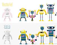 81 robots