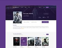 Cinehome website design