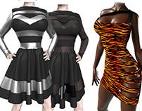 Bad Girl Marvelous Designer Sexy Dress Workshop