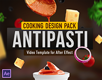 Cooking Design Pack - Antipasti | After Effects