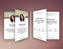 Rotating CSS Card Snippet