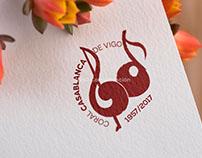 Logotipo 60 Aniversario Coral Casablanca