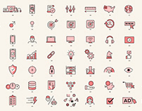 Icons selection