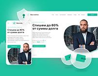 Bezcreditov - Financial web platform