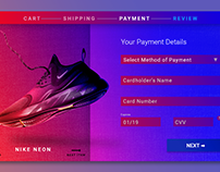 Daily Ui Design Challenge #002 - Credit Card Checkout
