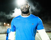 adidas NFL Training Photoshoot