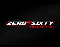 Zero2Sixty Typeface