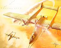 Planes Poster / Afiche de Aviones