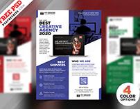 Corporate Flyer Design Free PSD