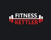 Fitness Kettler logo design