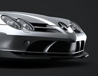 Mercedes-Benz SLR Mclaren CGI