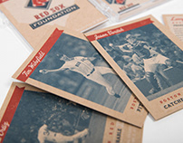 Red Sox Foundation Invite & Baseball Cards