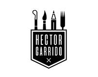 Logo Hector Garrido - Tatuador, Ilustrador, Escultor