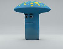 Mushroom Character