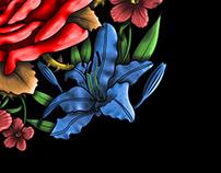 Flowers tatt