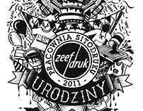 ZEEFDRUK Pracownia Sitodruku – 5 lat!