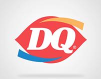 Dairy Queen Logo Bumper
