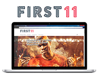 First 11 football site