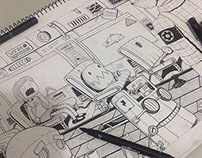 Sketchbook Doodles 2014