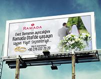 Ramada Otel Billboard