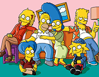 The Simpsons Future | Fan Promo Artwork