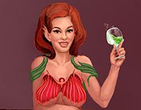 Acid Mermaid (art, CG)