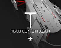 MG concept racing car T