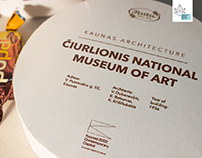Souvenir Package for Candies 'Kaunas Architecture'