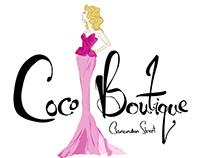 Coco Boutique Branding Identity