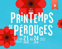 Spring Festival of Pérouges - Brand identity