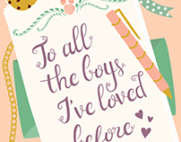 To All the Boys | Reimagined Book Cover
