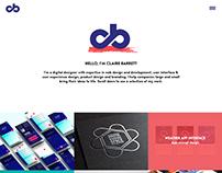 My personal portfolio website design - coming soon!