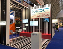 MDC stand at RBTE 2018 Olympia