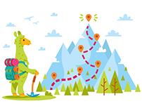 Clar.io Illustrations, mascot and icon design