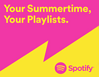 Your Summertime, Your Playlists.