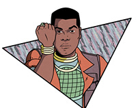 John Boyega as Kwame from Captain Planet