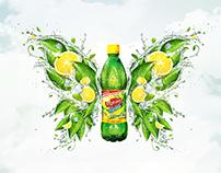 Lipton Ice Tea Poland - Webdesign & keyvisual