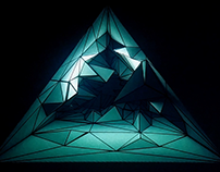 Triangle 3D Reverse Projection Mapping test
