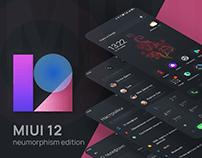 MIUI 12 – neumorphism edition