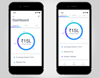 Financial App - Dashboard & Funds Details UI Ideation